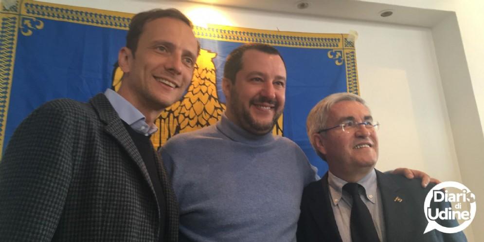 Salvini torna in Friuli: atteso il 23 settembre a Pradamano
