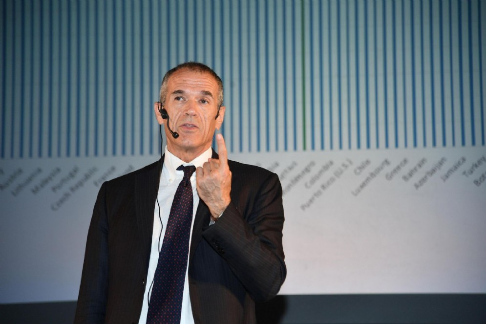 L'ex commissario alla spending review Carlo Cottarelli