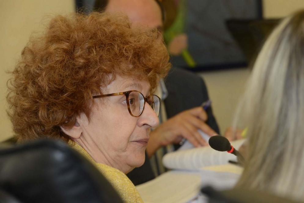 Assessore regionale alla Cultura Tiziana Gibelli