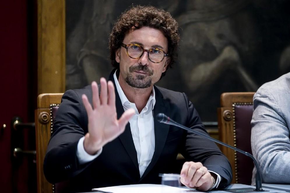 Il ministro dei Trasporti Danilo Toninelli