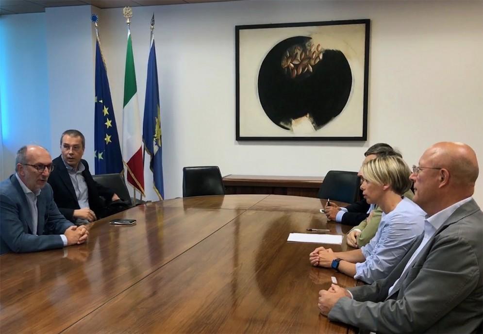 Confronto tra il vicegovernatore Riccardo Riccardi e rappresentanti regionali dell'Ordine dei farmacisti