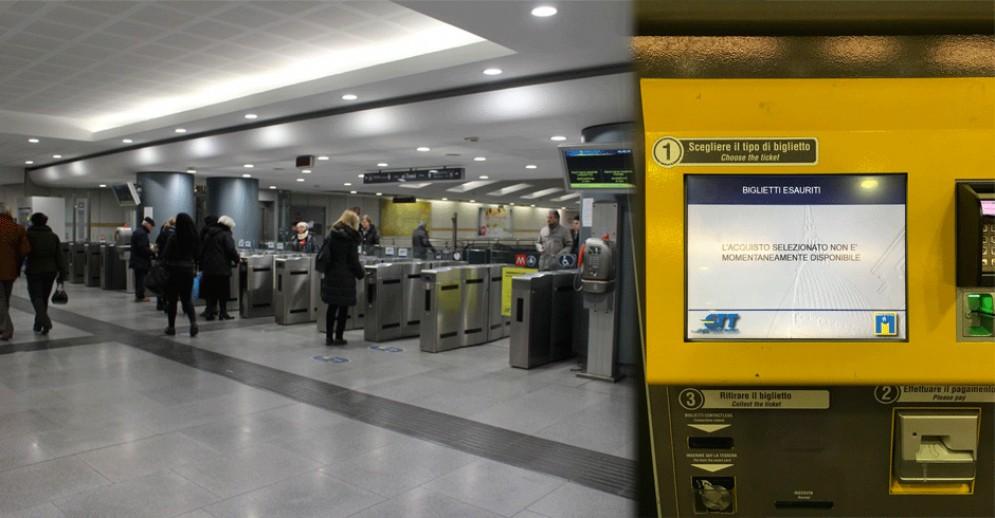 Metro, biglietterie sempre fuori uso: «E' così che il Comune intende puntare sul trasporto pubblico?»