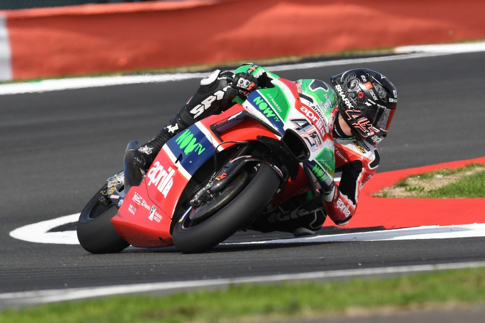 Scott Redding su Aprilia