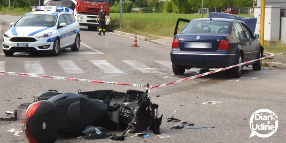 Tre incidenti in poche ore sulle strade del Friuli
