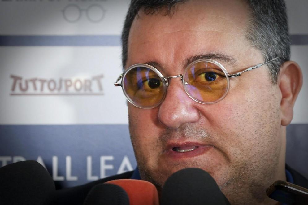 Mino Raiola, procuratore fra gli altri di Mario Balotelli