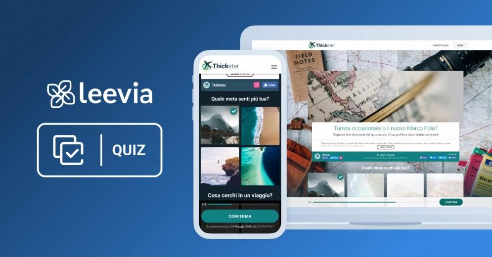 Leevia - Quiz online