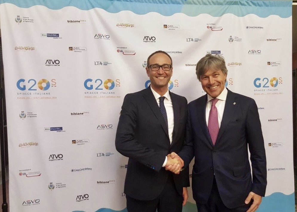 G20 delle spiagge italiane: Friuli e Veneto pronti a lavorare insieme
