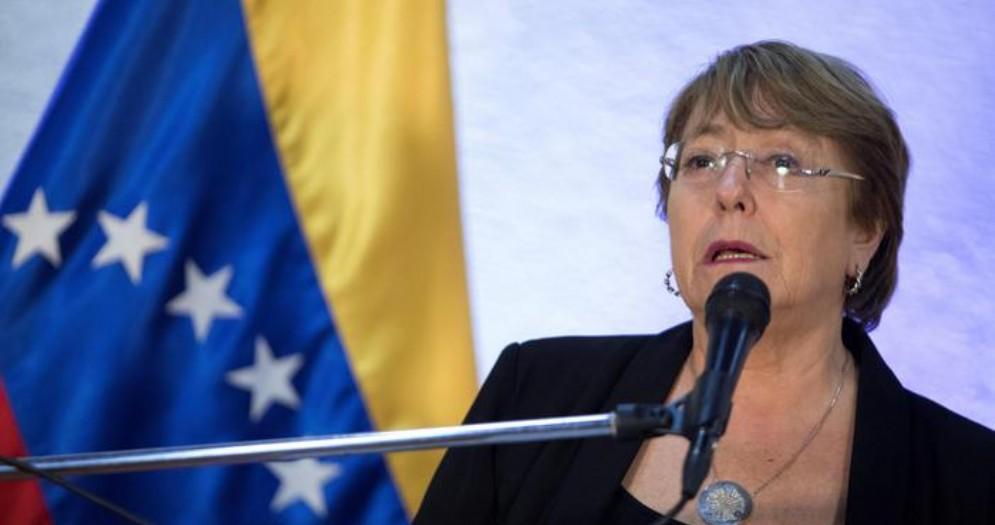 Il commissario ONU, Michelle Bachelet