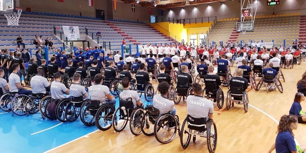 A Lignano la 10^ edizione degli europei di basket in carrozzina