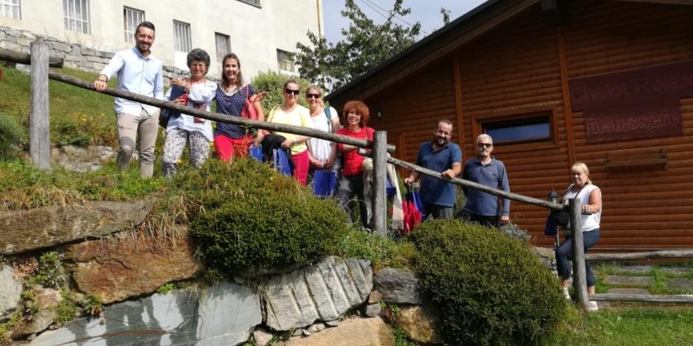 Biteg 2018, visita alla Bossola dell'educational internazionale