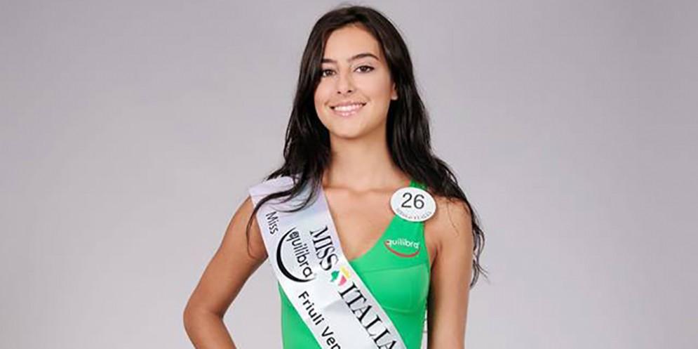 Miss Italia 2018, Valeria porta il Friuli Venezia Giulia alla finale nazionale: come votarla