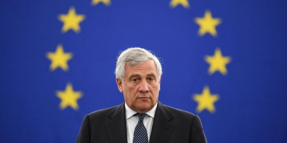 Il presidente del Parlamento Ue e vicepresidente di Forza Italia Antonio Tajani