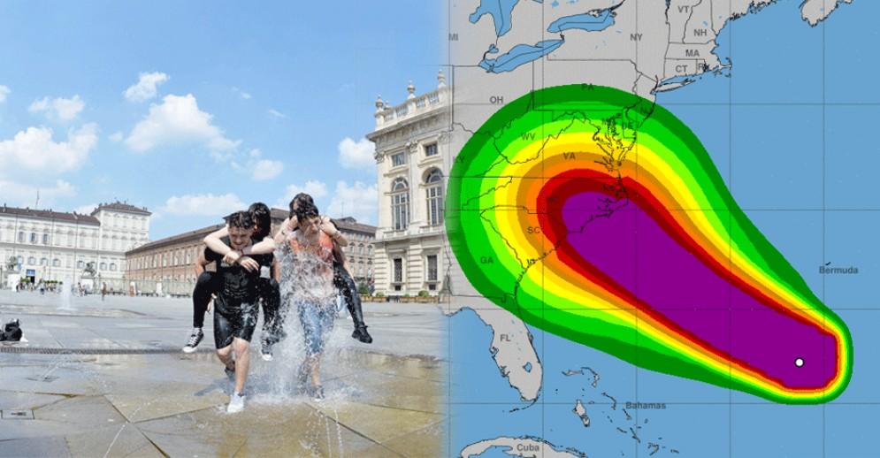L'uragano Florence «rimanda» l'estate, le temperature schizzano verso l'alto: le previsioni