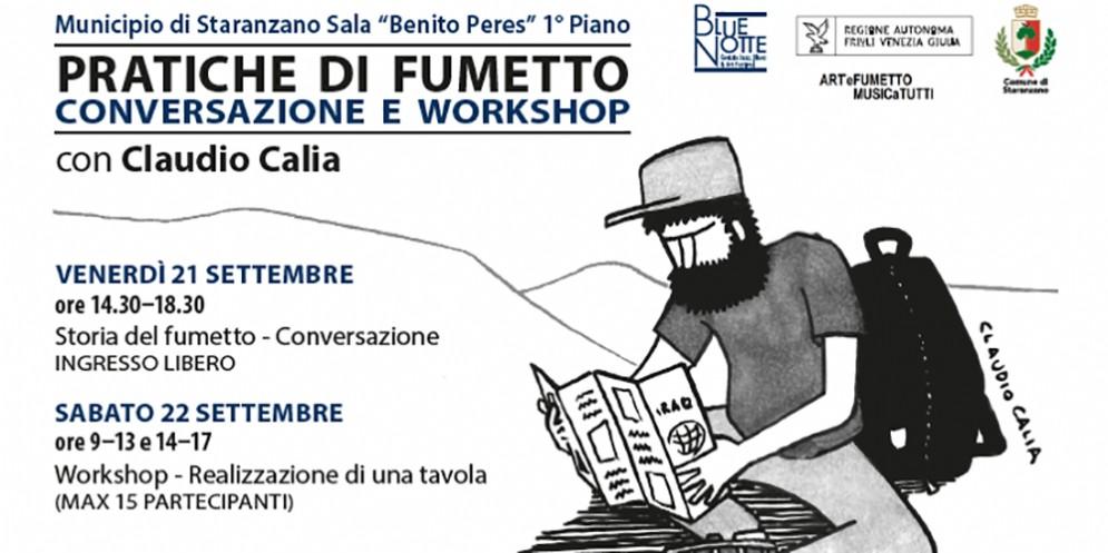 A Staranzano uno dei migliori graphic journalist italiani racconta e insegna come si fanno i fumetti