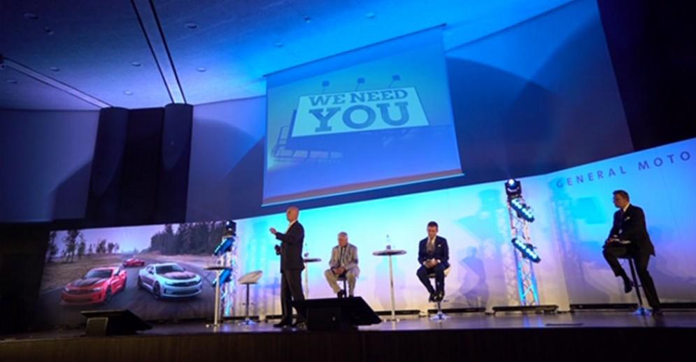 L'evento di General Motors a Torino