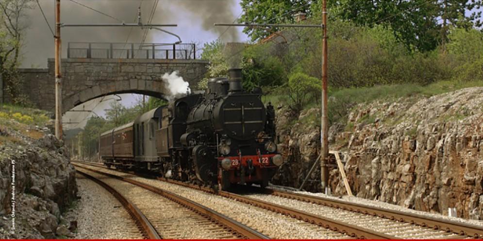 """Il """"Treno della Grande Guerra"""": viaggio lungo il confine"""