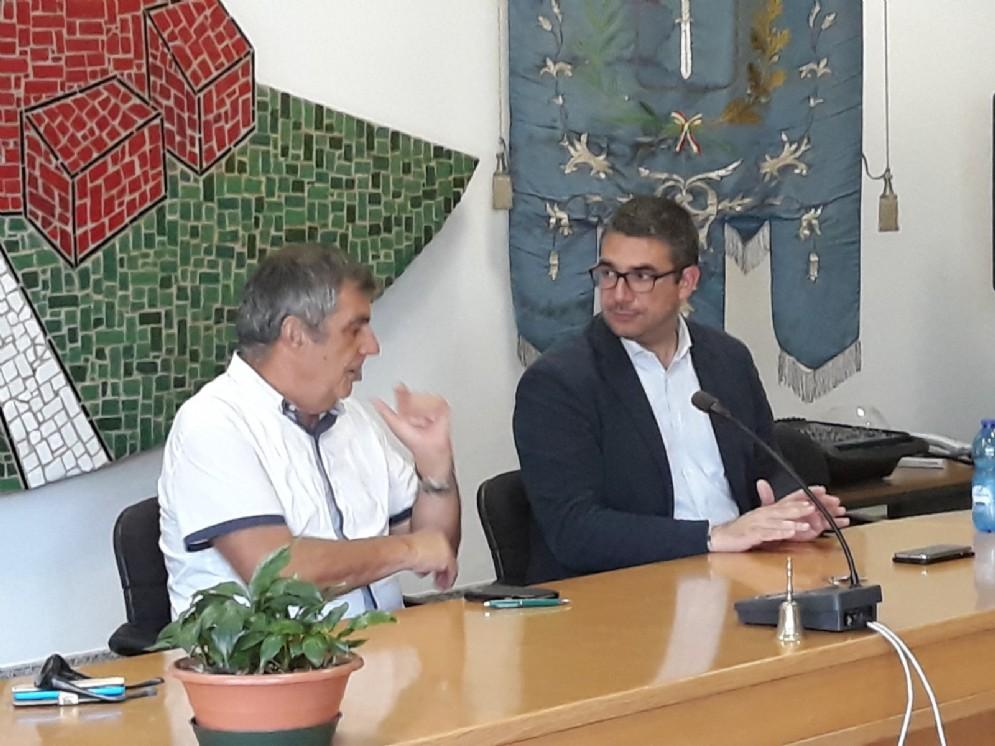 Incontro tra l'assessore agli Enti locali Pierpaolo Roberti e il sindaco di Lestizza Geremia Gomboso