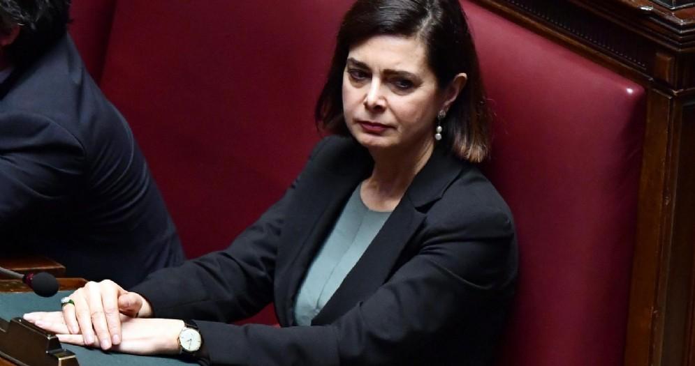 L'ex presidente della Camera Laura Boldrini, oggi deputata di Liberi e uguali