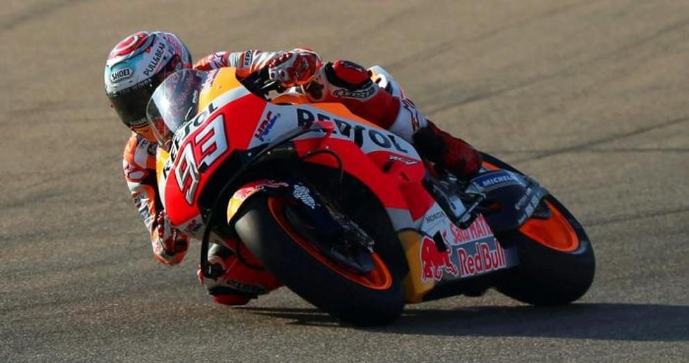 Marc Marquez su Honda HRC