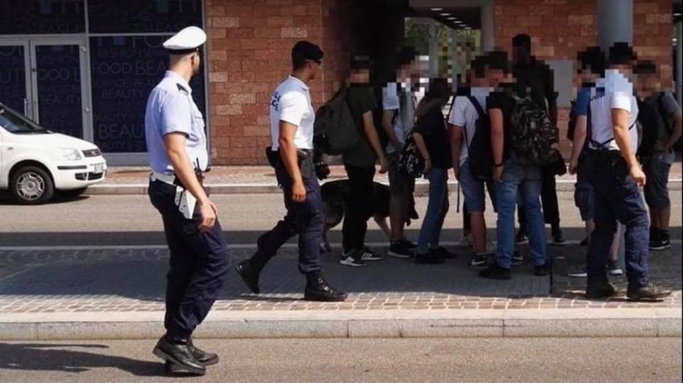 Controlli della Polizia Municipale a Verona