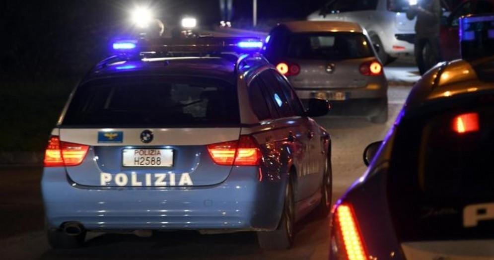 Auto della Polizia - Immagini di repertorio