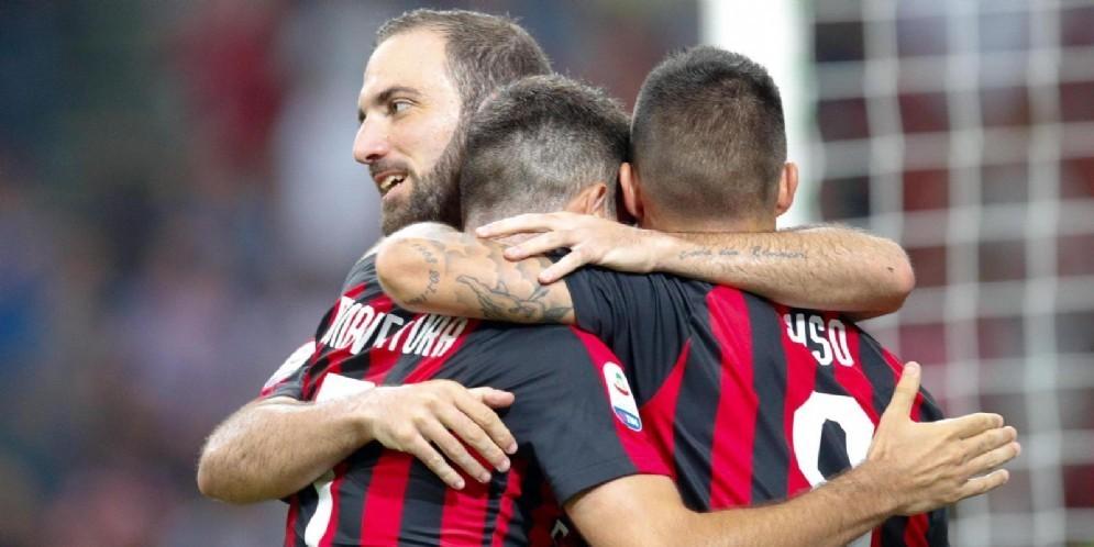 Il trio fantasia del Milan