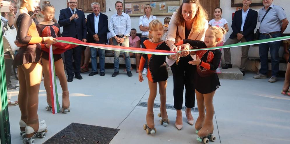 Inaugurato a Opicina il nuovo centro sportivo del 'Polet'