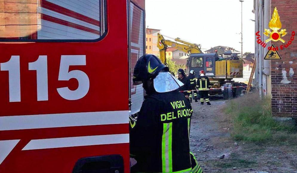 Esplosione vicino alla stazione di Belluno: feriti due friulani