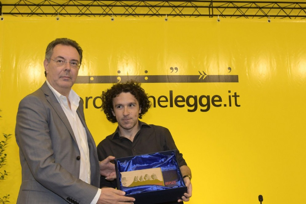 Consegna del premio speciale Dolomiti Unesco