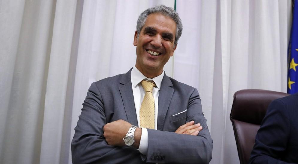 Marcello Foa durante l'audizione in Commissione di Vigilanza Rai