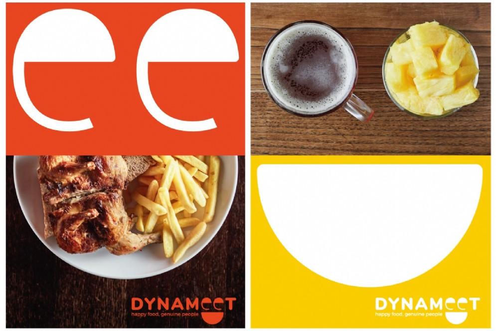 """Il payoff del nuovo brand unisce il gusto per il buon cibo alla bellezza della convivialità: """"Happy food, genuine people"""""""