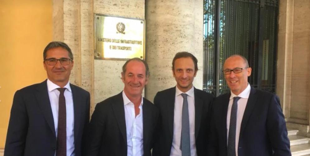 A4, incontro Fedriga-Toninelli: c'è convergenza sulla concessionaria pubblica