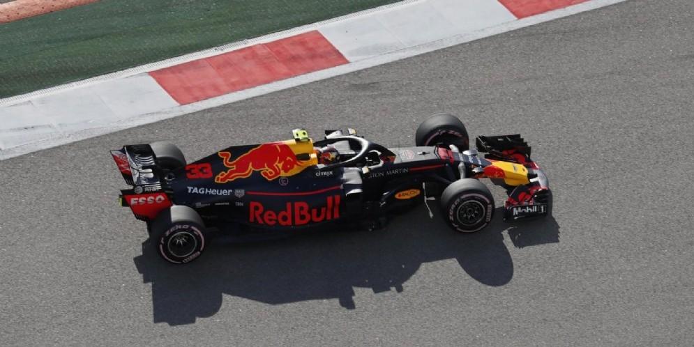Max Verstappen durante il Gran Premio di Russia