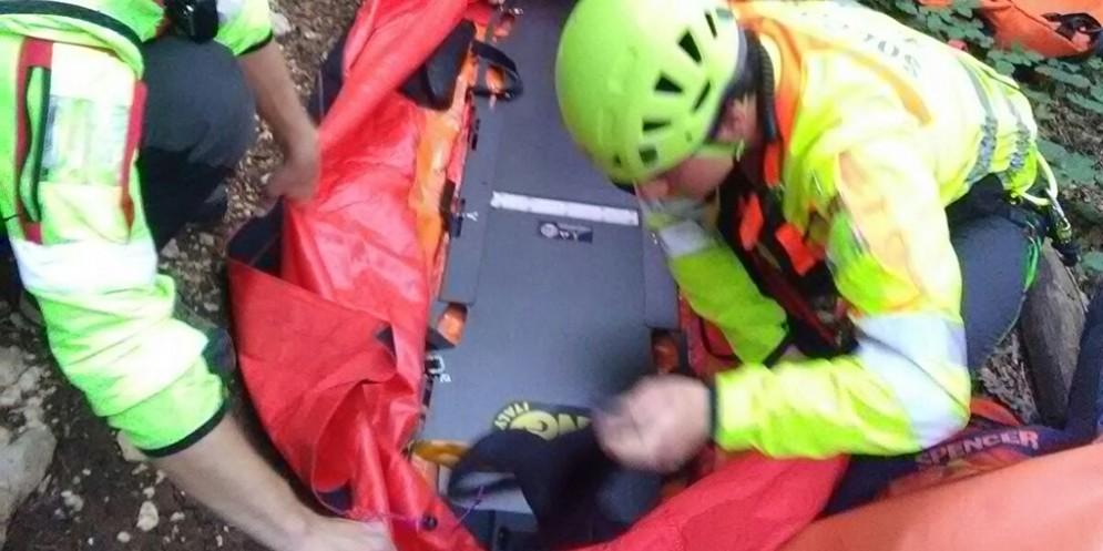 Barcis, donna soccorsa in montagna: trasportata in ospedale
