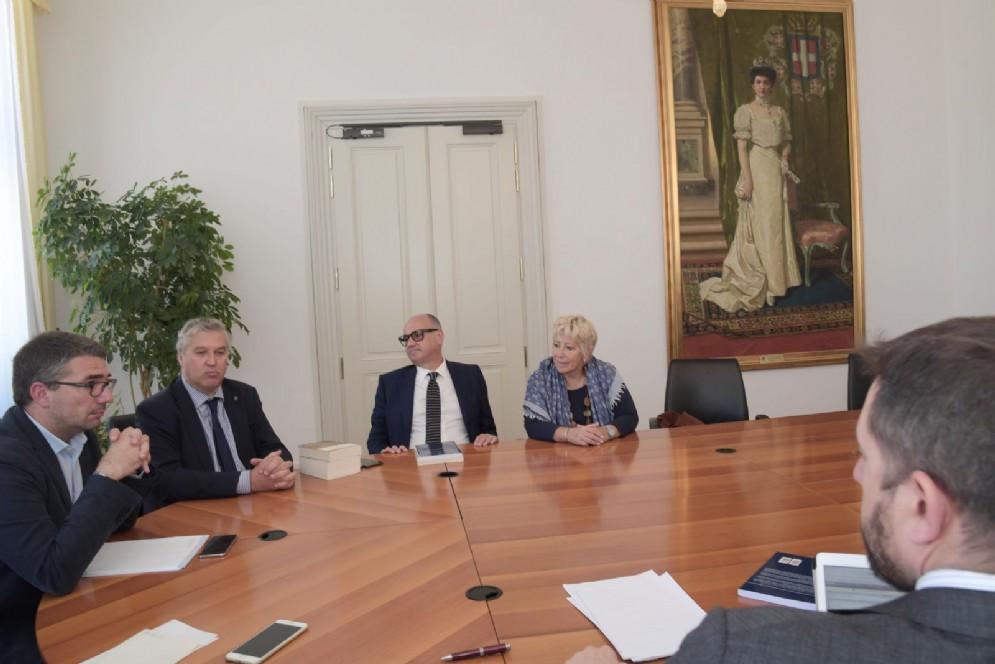 Incontro assessore Roberti e delegazione FederEsuli