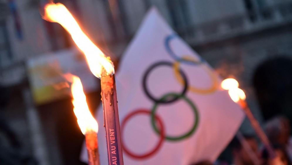 Fiaccolata 'pro-Olimpiadi'