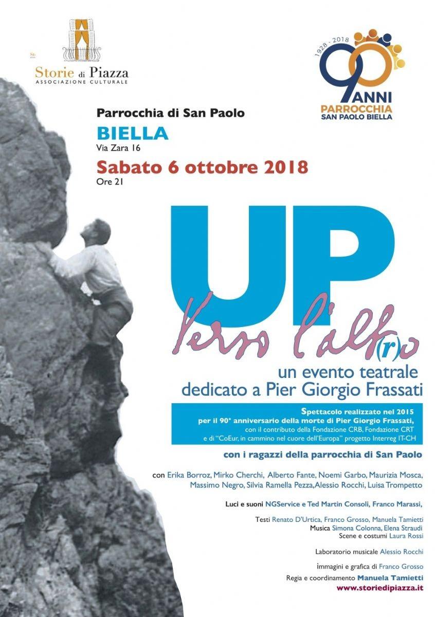 Locandina Frassati San Paolo 2018