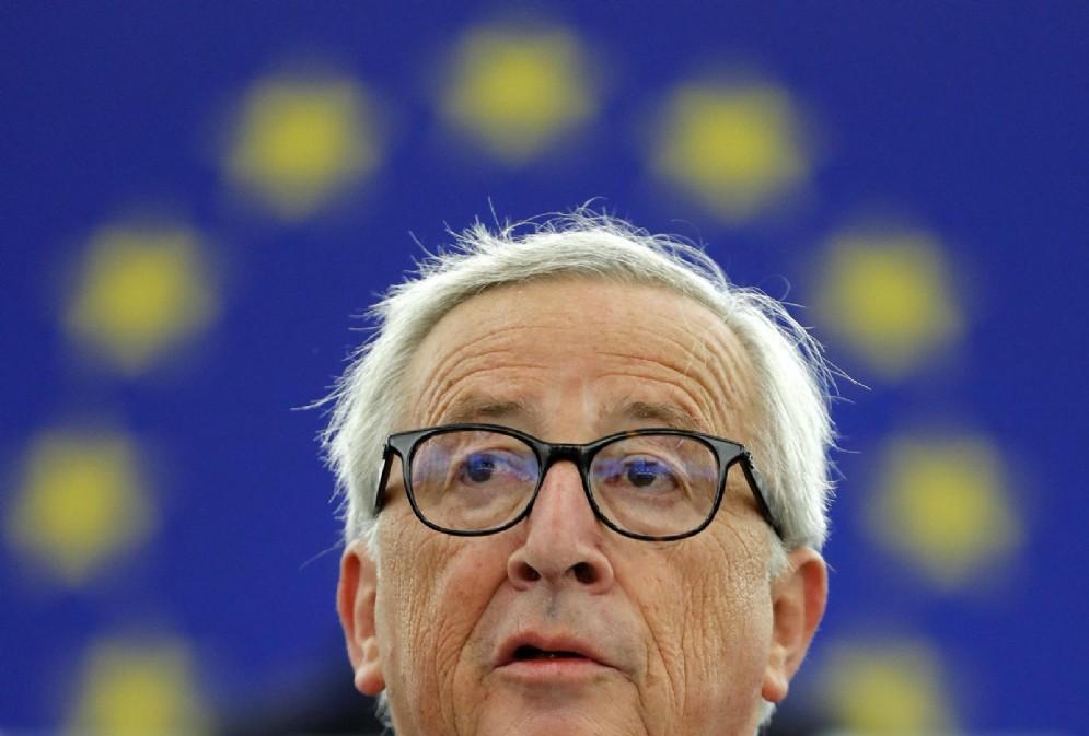 Il presidente della Commissione europea, Jean-Claude Juncker