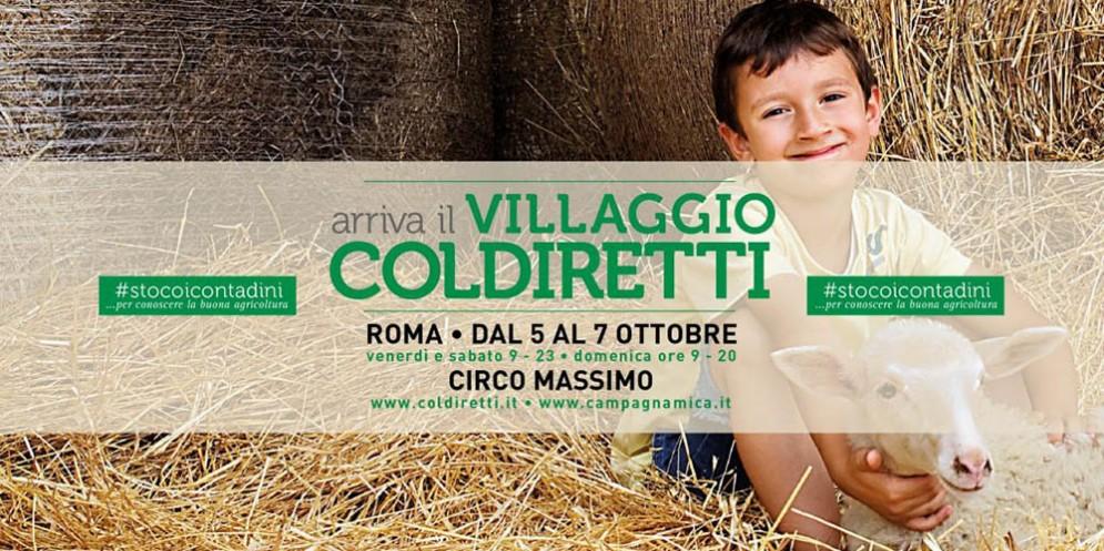 Villaggio contadino della Coldiretti: quattro aziende regionali a Roma