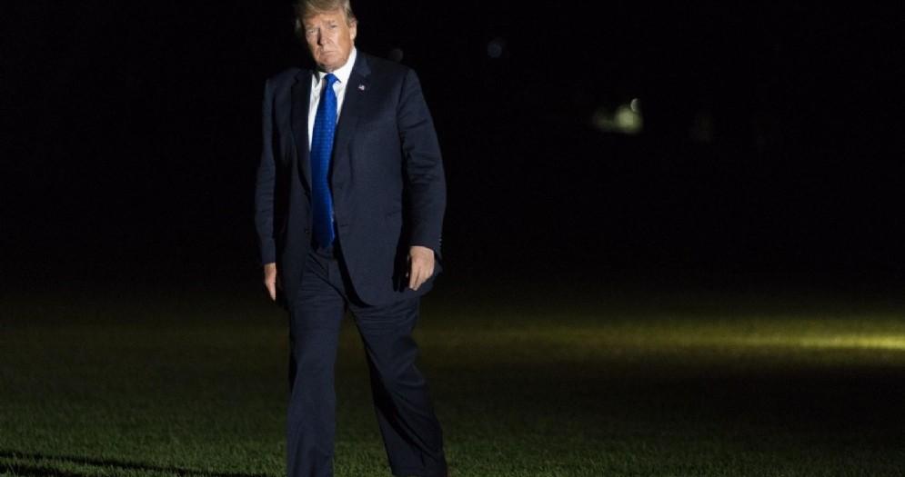 Il presidente Usa Donald Trump