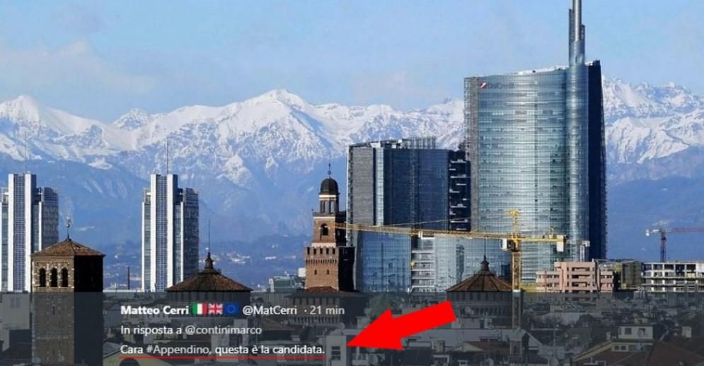 Le montagne dietro Milano