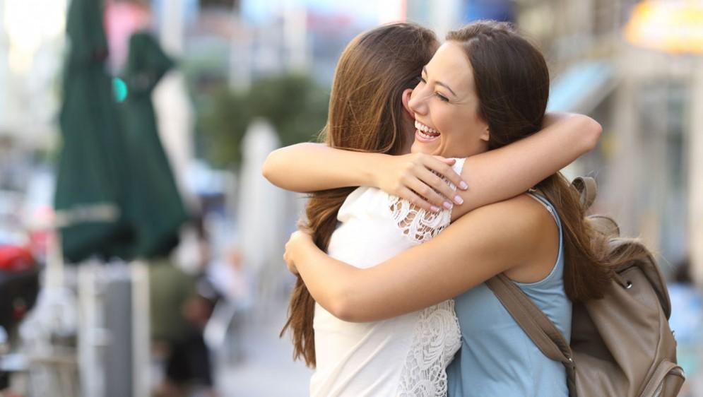 L'abbraccio fa bene alla salute