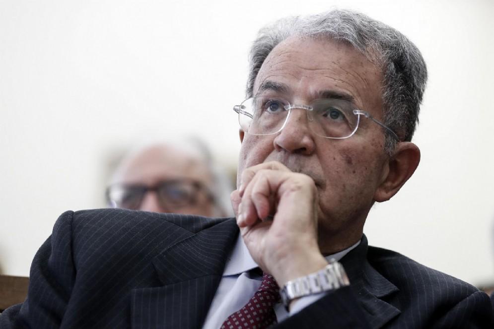 L'ex premier e presidente della Commissione Ue Romando Prodi
