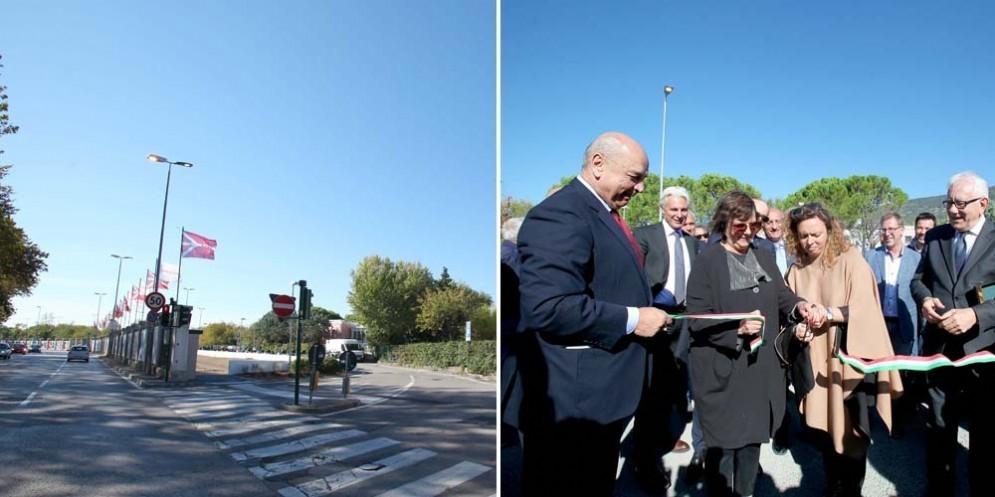 Inaugurato a Barcola il nuovo parcheggio: 400 stalli disponibili