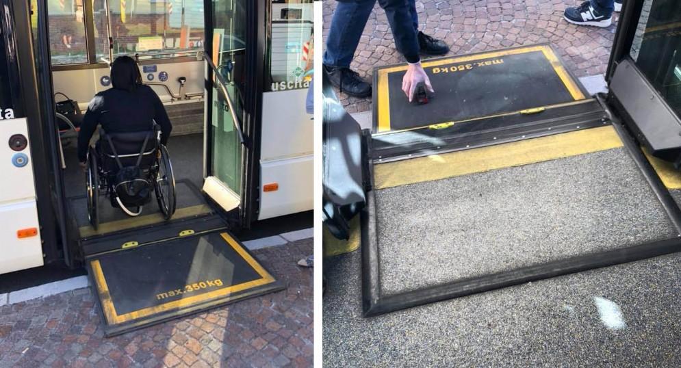 Udine, al lavoro per eliminare le barriere architettoniche alle fermate dei bus