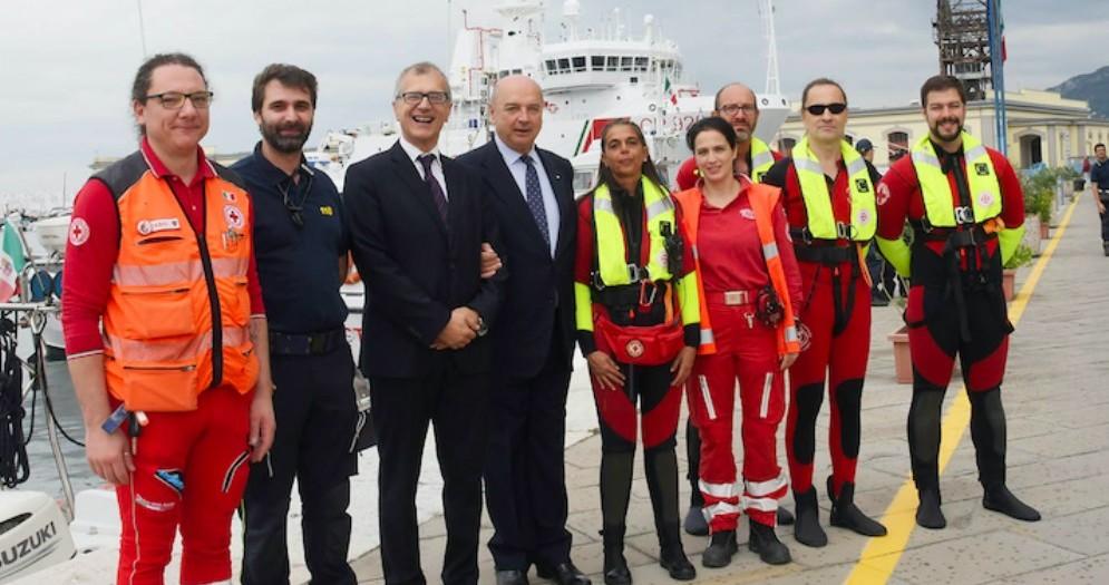 Barcolana, Roberti: «Grazie alla Guardia Costiera, garanzia di sicurezza»