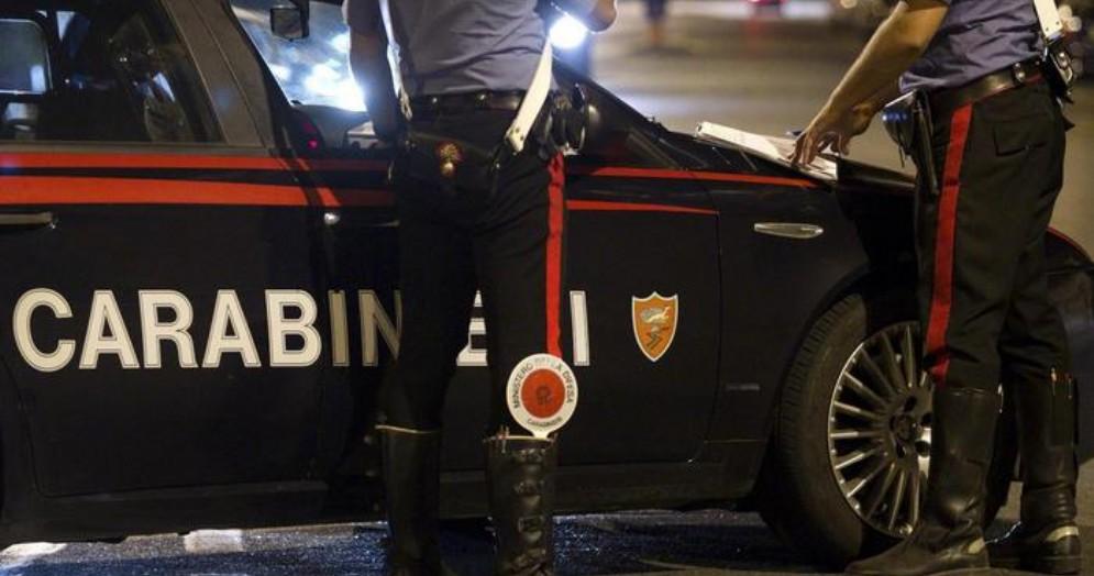 Posto di blocco dei Carabinieri - Immagine di repertorio