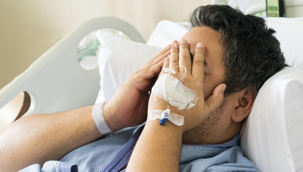 Malato in ospedale - Immagine rappresentativa