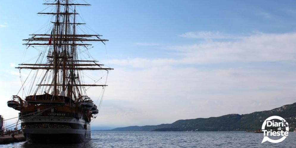 La Amerigo Vespucci è arrivata a Trieste!