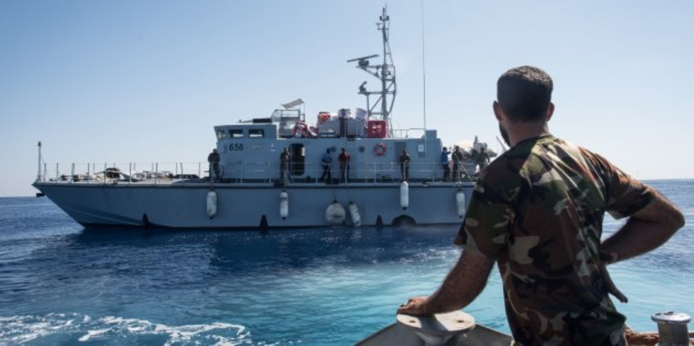 Motovedette libiche nel Mediterraneo